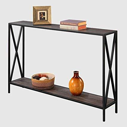 Amazon.com: Tall Narrow Console Table Entryway Table Modern Hallway