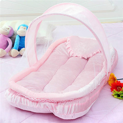 Plain Pink Newborn Baby Bed, Size: Single, Rs 250 /piece | ID