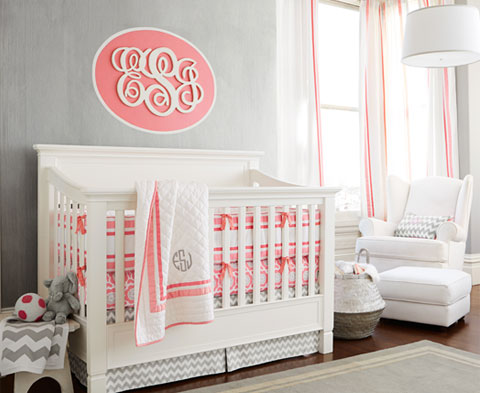 Nursery Themes & Baby Nursery Ideas for Girls | Pottery Barn Kids