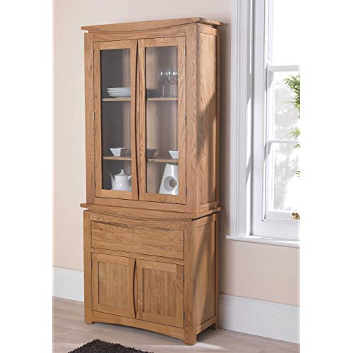 Oak Dressers and Display Cabinets: Amazon.co.uk