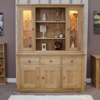 Display Cabinets / Units | Oak Furniture UK
