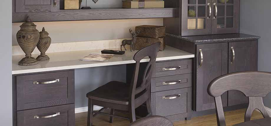 Office Cabinets | Custom Reception Counter | Heartland Design Iowa