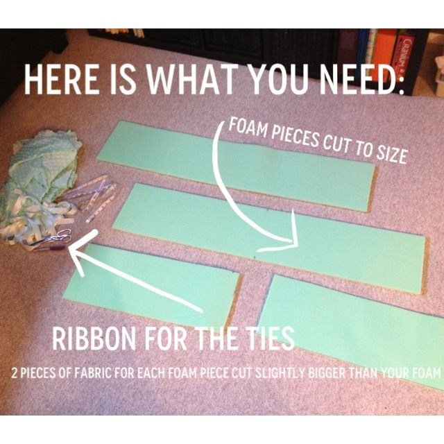 How to make your own crib bumper pads   Sewing tips.   Bumper pads