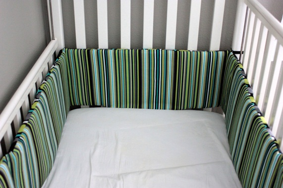 Comfortable and cozy padded crib bumpers for babies u2013 DesigninYou