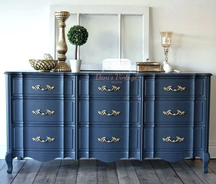 Painted French Provincial Furniture Painted French Refurbished