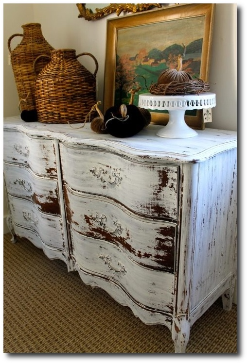 5 Ways To Update Vintage French Provincial Furniture