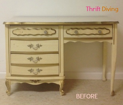 Painted French Provincial Furniture
