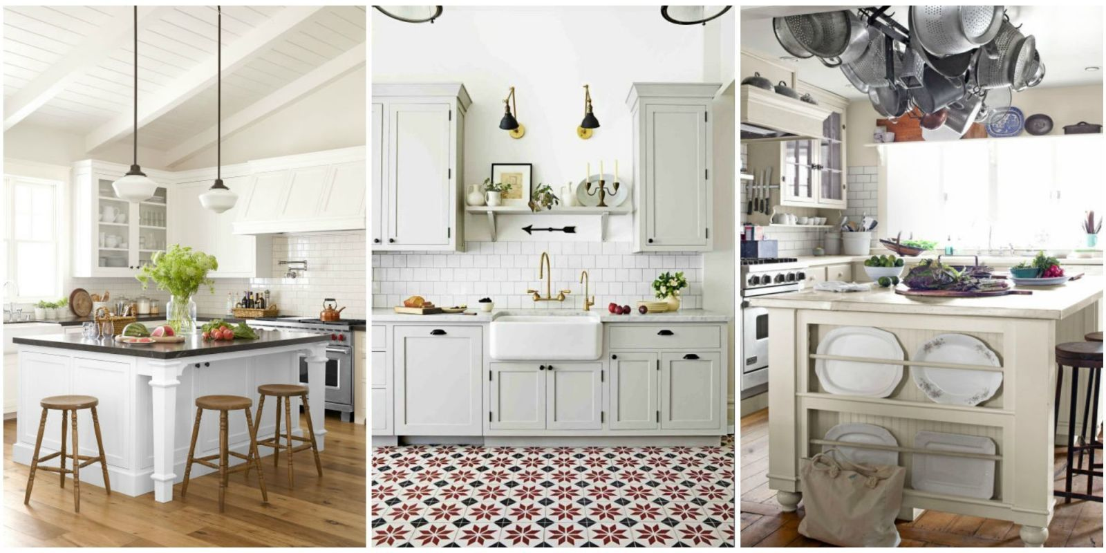 10 Best White Kitchen Cabinet Paint Colors - Ideas for Kitchen with