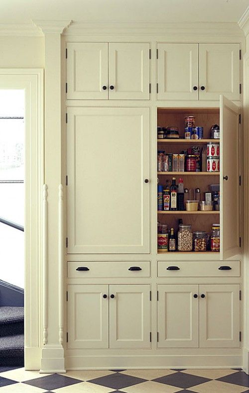 10 Kitchen Pantry Ideas for Your Home | Home-inside and out | Built