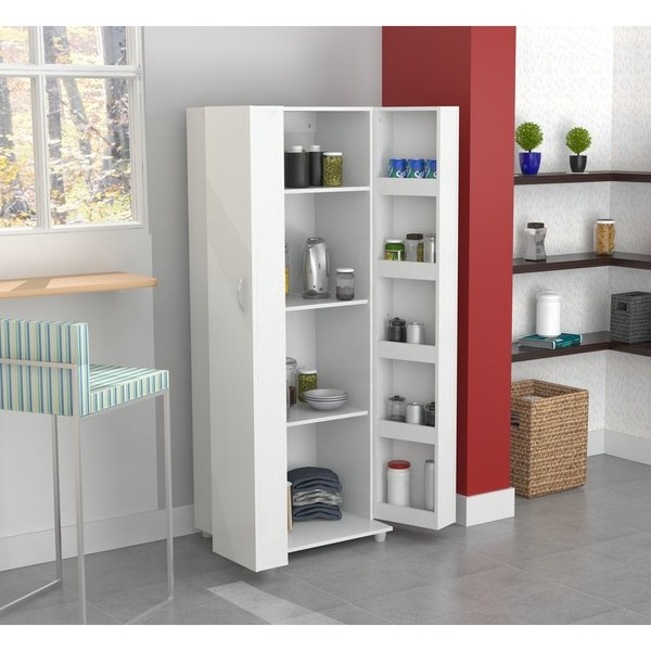 Shop Inval Laricina White Kitchen Storage Cabinet - On Sale - Free