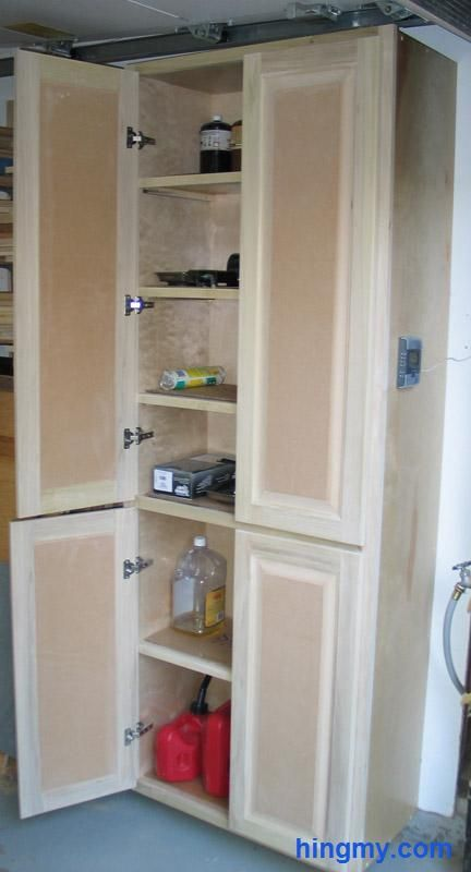 How to build a full length storage cabinet | DIY Tips from Hingmy