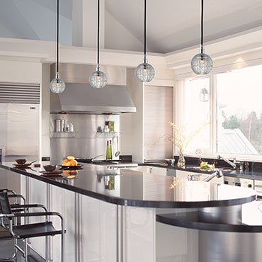 Pendant Lighting & Hanging Drop Lights for Kitchen Islands & Dining