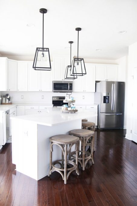 Beautiful and Affordable Kitchen Island Pendant Lights | Just a Girl