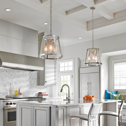 How to Choose Pendant Lights for a Kitchen Island | YLighting Ideas