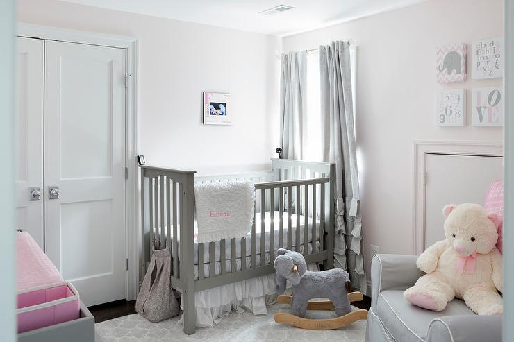 Pink And Grey Curtains For Nursery u2013 Styles to Consider u2013 DesigninYou