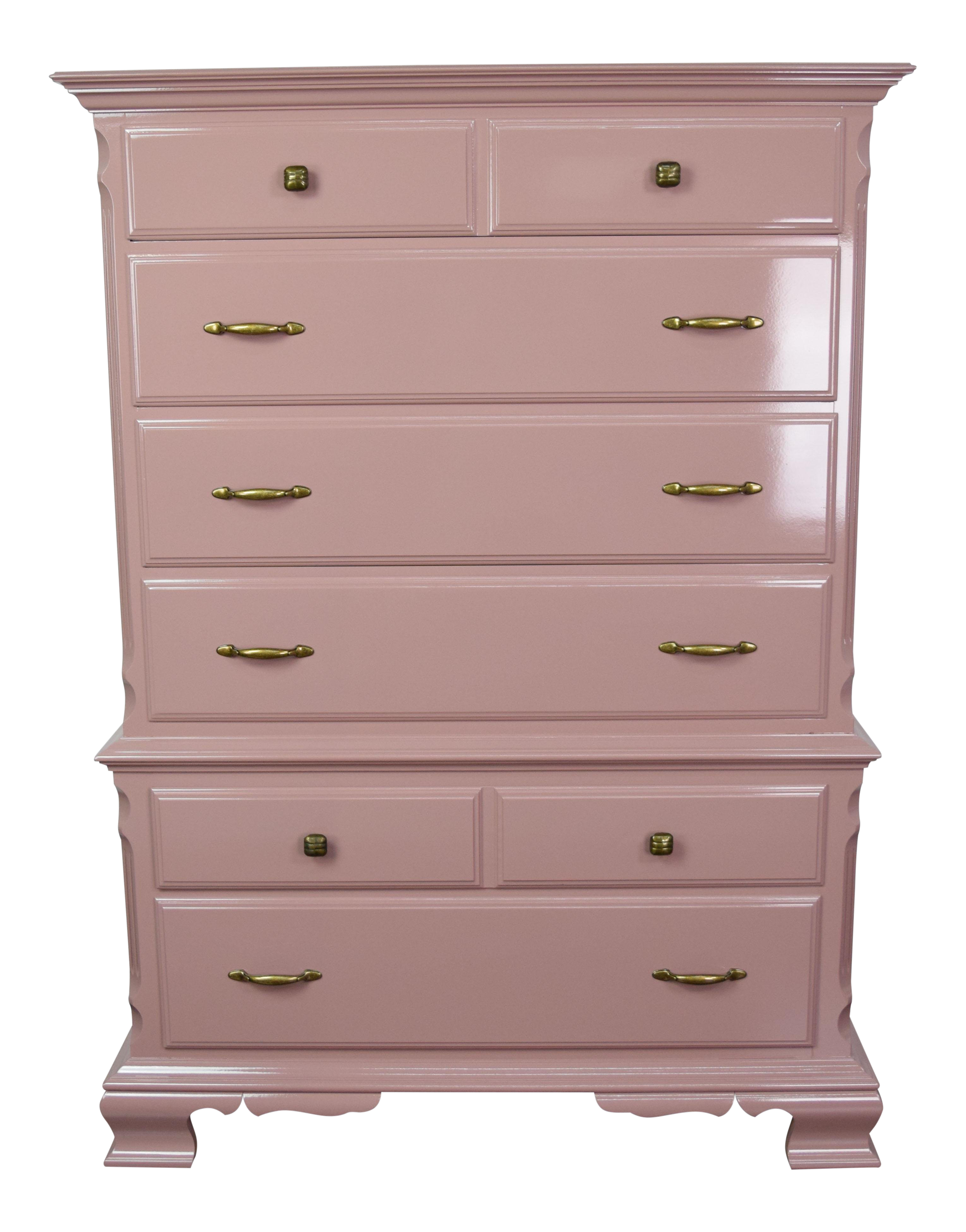 Vintage & Used Pink Dressers and Chests of Drawers | Chairish
