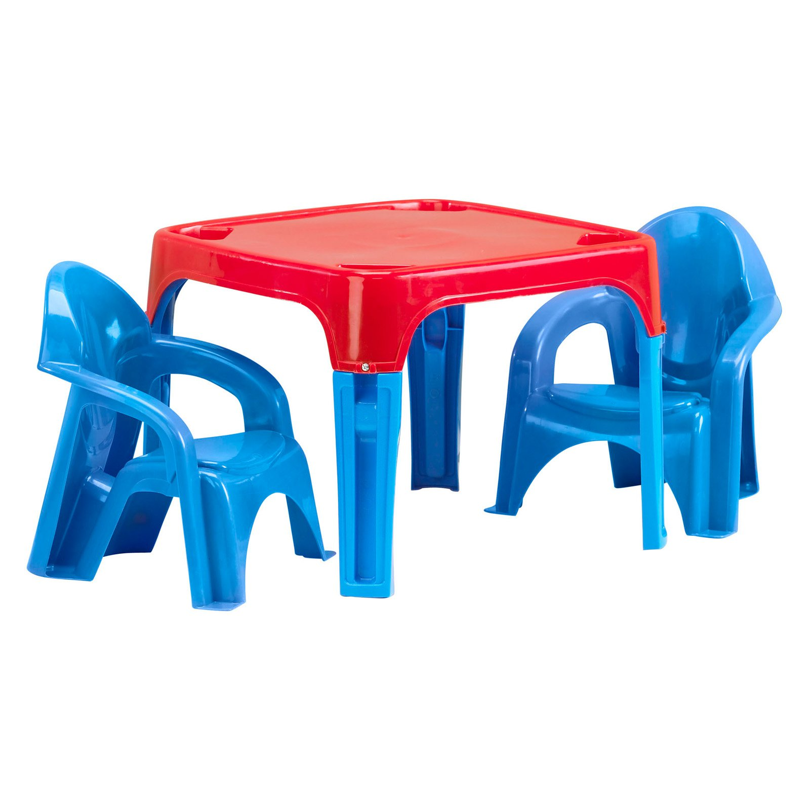 American Plastic Toys Kids Table and Chairs - Walmart.com