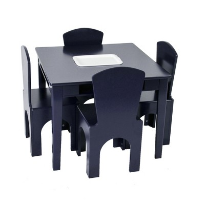 Kids Table Set With Center Cubby - Reservation Seating : Target