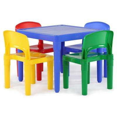 Classic - 4 & Up - Kids Table & Chair Set - Plastic - Furniture