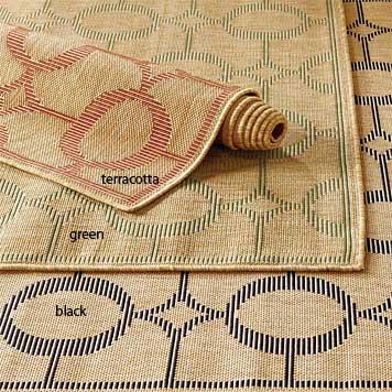 Polypropylene Rug / Arabesque Indoor/Outdoor Rug -- Orvis