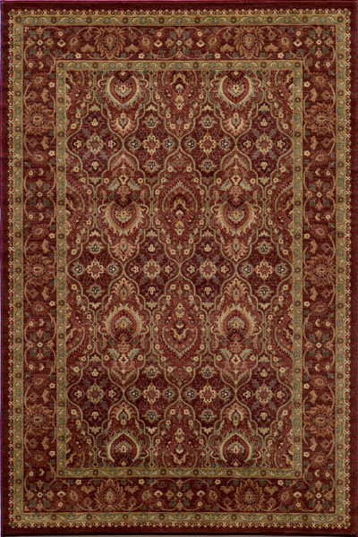 Belmont Polypropylene Rug, Red - Mediterranean - Area Rugs - by
