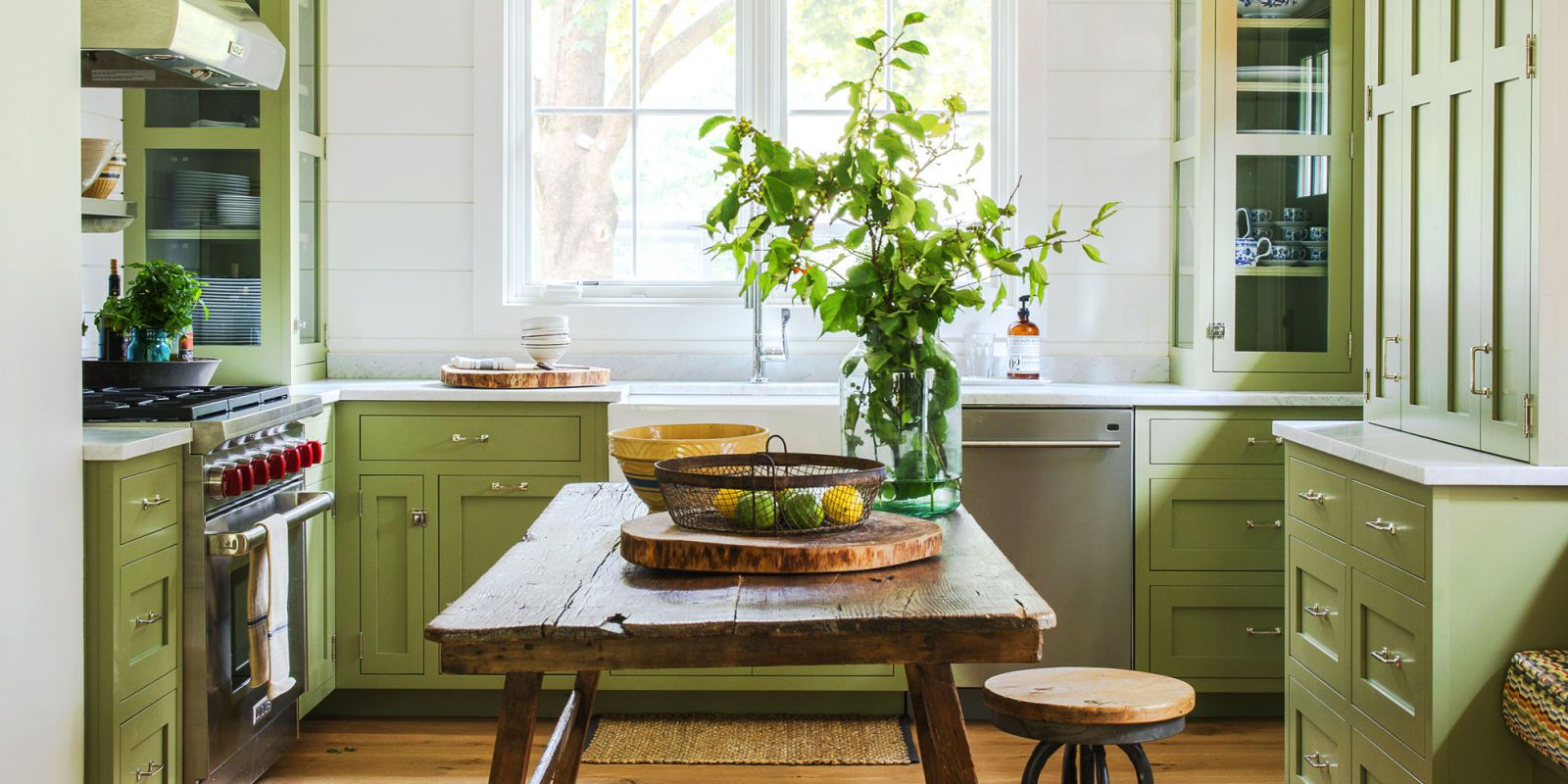 17 Best Kitchen Paint and Wall Colors - Ideas for Popular Kitchen