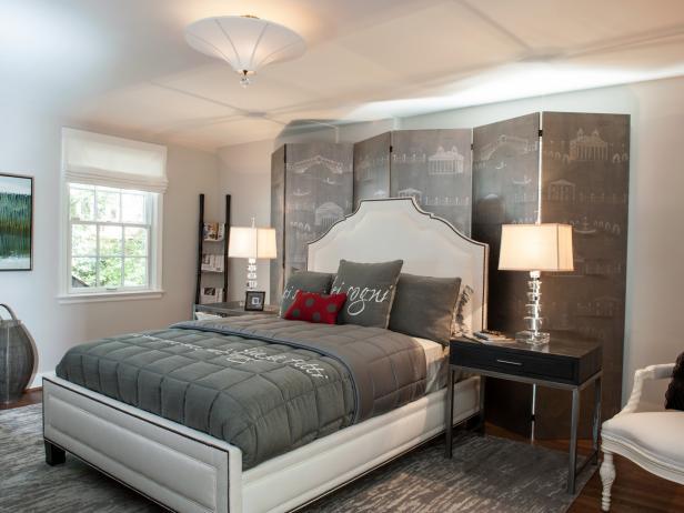 Gray Master Bedrooms Ideas | HGTV