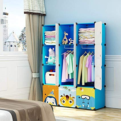 Amazon.com: MAGINELS Children Wardrobe Kid Dresser Cute Baby