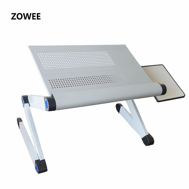 Adjustable Portable Laptop Table Stand Lap Sofa Bed Tray Computer