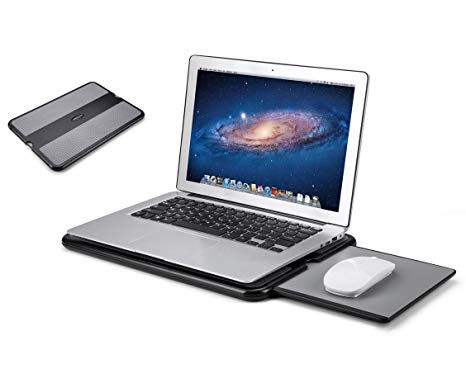 Amazon.com : AboveTEK Portable Laptop Lap Desk w/Retractable Left