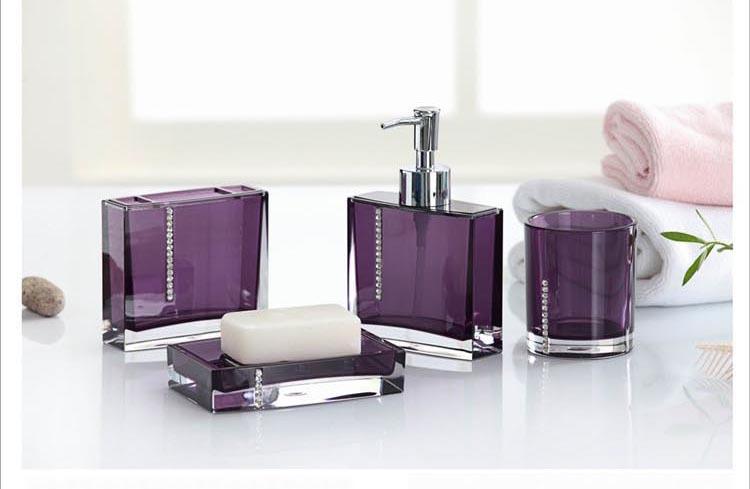 The Best Purple And Black Bathroom Sets For You u2013 DesigninYou