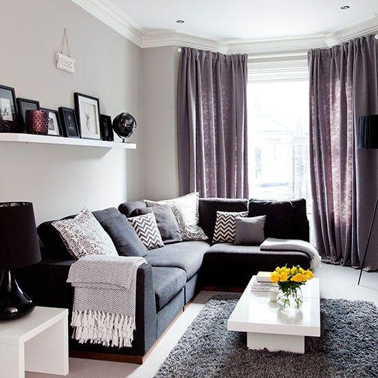 Purple Curtains Living Room Ideas