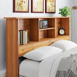 Bookcase Headboards You'll Love | Wayfair