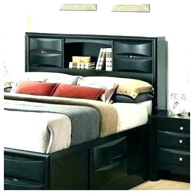 Bookcase Headboards Queen Size Queen Storage Headboard Queen