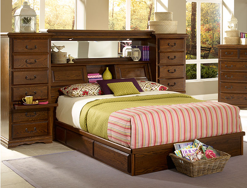 Perfect selection of queen headboards with shelves make home perfect