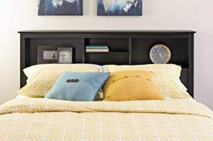 Amazon.com - Prepac BSH-6643 Sonoma Storage Headboard, Queen, Black