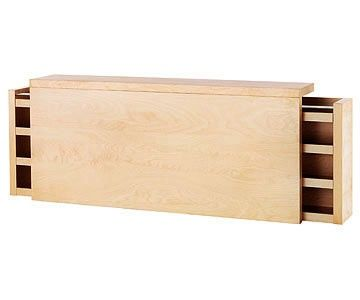 Headboard Storage- Malm queen bed headboard from IKEA 199 usd | Its