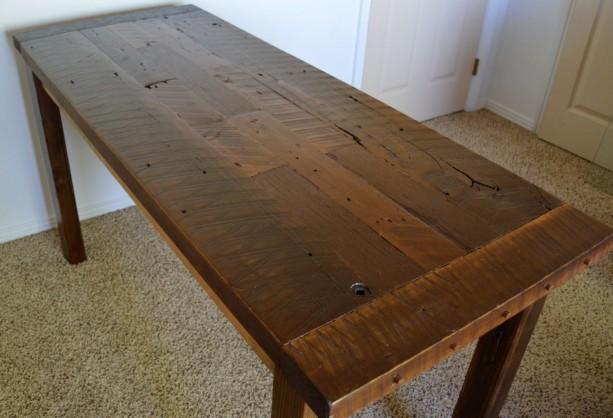 Country Home Decor, Rustic Desk,