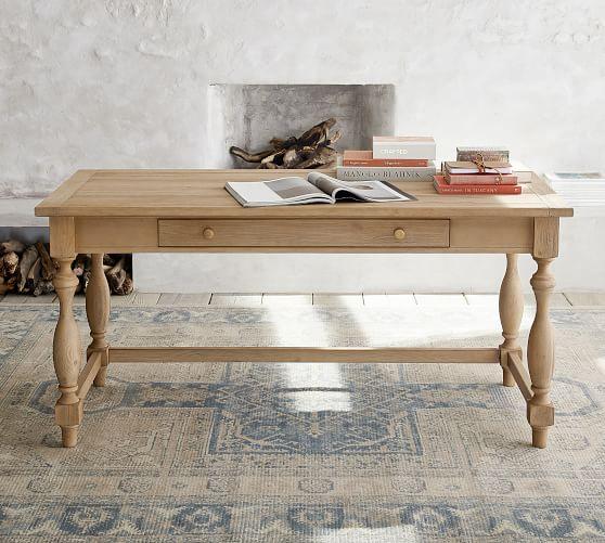 Parkmore Reclaimed Wood Desk | Pottery Barn