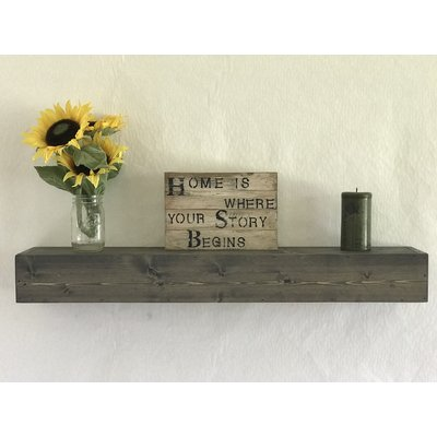 Reclaimed Wood Floating Shelf & Reviews | Joss & Main