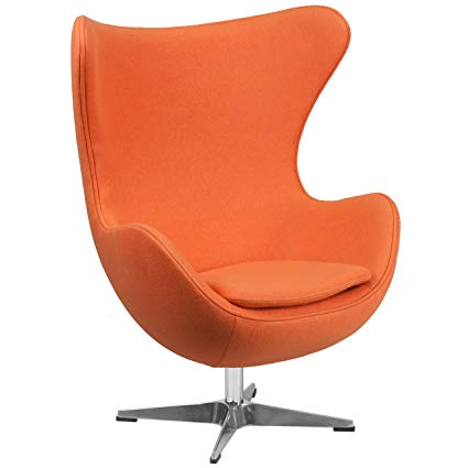 Amazon.com : Orange Egg Chair -