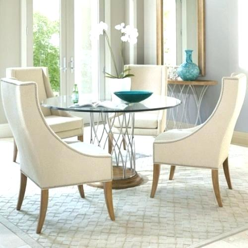 Small Glass Dining Table Set Dining Room Round Glass Dining Table