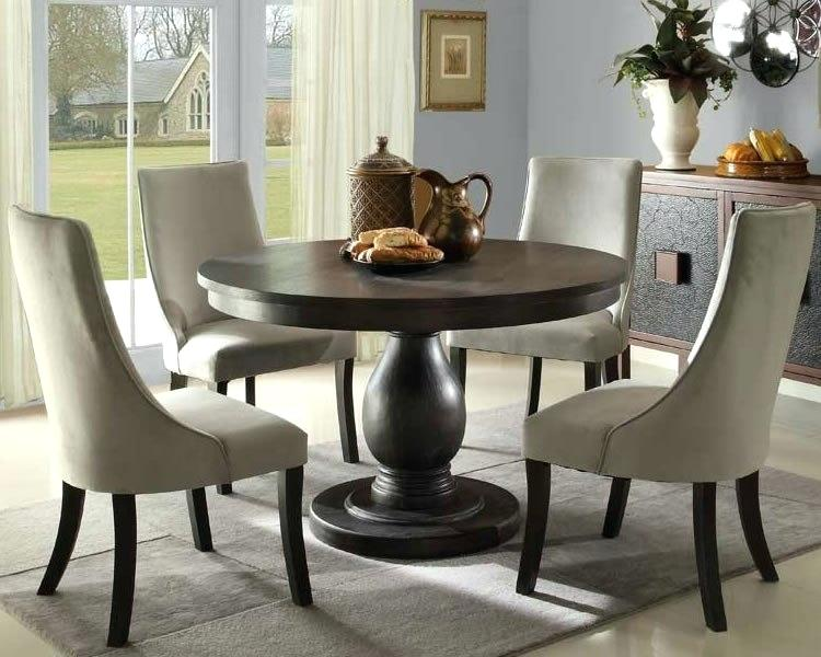 Round Kitchen Dinette Sets Dining Tables Round Wood Dining Table Set