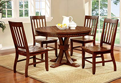 Round Wood Kitchen Table Sets