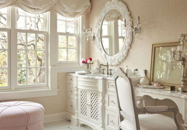 White Shabby Chic Bedroom Furniture U.K for Small Room with