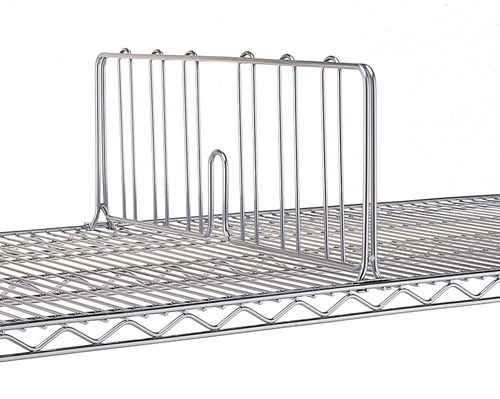 Wire Shelf Divider Larger Photo