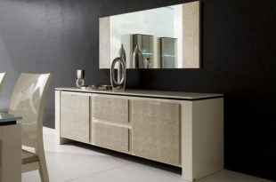 contemporary modern dining room buffet with mirror | Home - Cabinet
