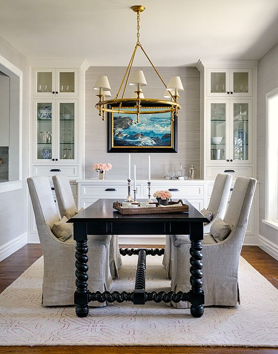 21 Dining Room Built-In Cabinets and Storage Design | Decor | Dining