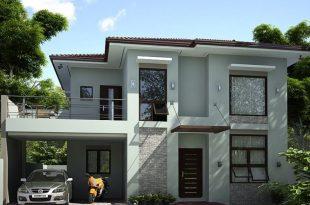 2 Storey Simple Modern House Design | Prefered House | House design