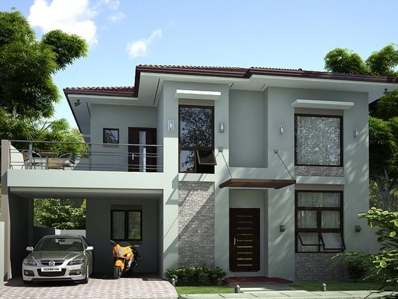 2 Storey Simple Modern House Design | Prefered House | House design